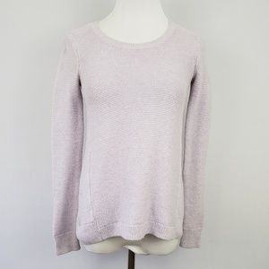Madewell Lavender Knitted Sweater